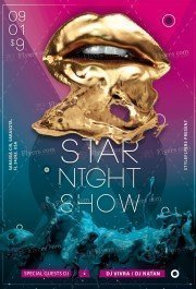 Starnight PSD Flyer Template