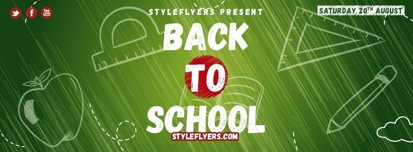 facebook_Back to school_psd_flyer