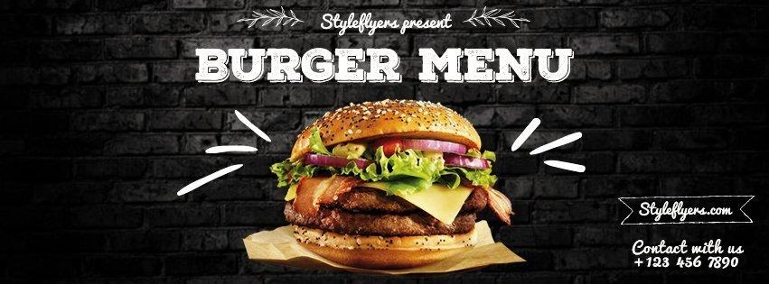 facebook_burger menu_psd_flyer