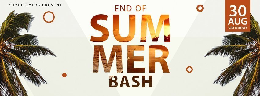 facebook_prev_end of summer bash_psd_flyer