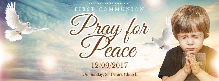 facebook_prev_pray for peace_psd_flyer