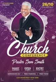 church_psd_flyer