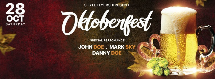 facebook_prev_Oktoberfest Festival_psd_flyer
