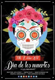Freebies flyer psd templates download styleflyers dia de los muertos free psd flyer template pronofoot35fo Gallery