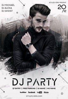DJ Party PSD Flyer