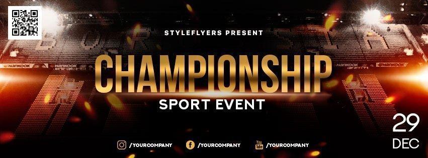 facebook_Championship_psd_flyer