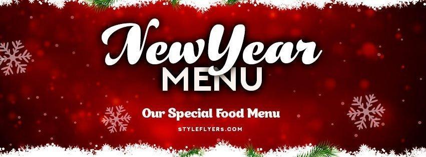 facebook_New-year-menu_psd_flyer