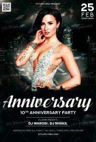 Anniversary_psd_flyer
