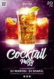 Cocktail-Party_psd_flyer