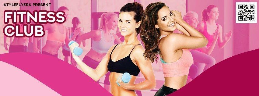 facebook_Fitness_psd_flyer