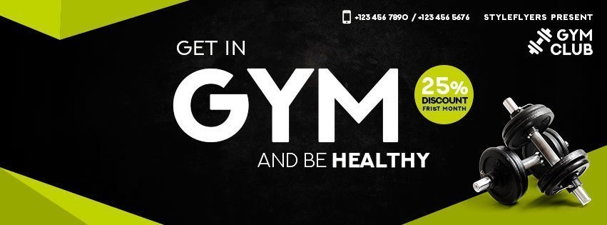 facebook_GYM_psd_flyer