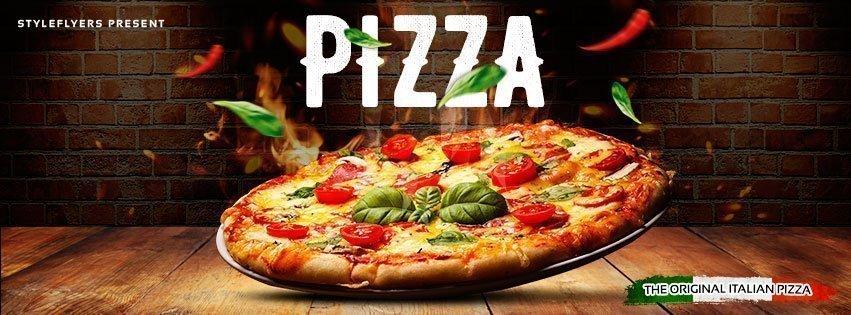 facebook_Pizza_psd_flyer