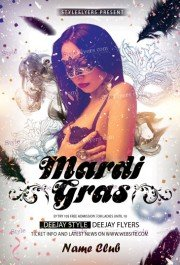 Mardi gras free psd flyer template free download 5388 styleflyers mardi gras free psd flyer template saigontimesfo