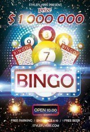 Bingo PSD FLyer Template