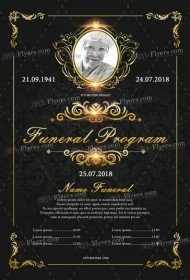 funeral-Program