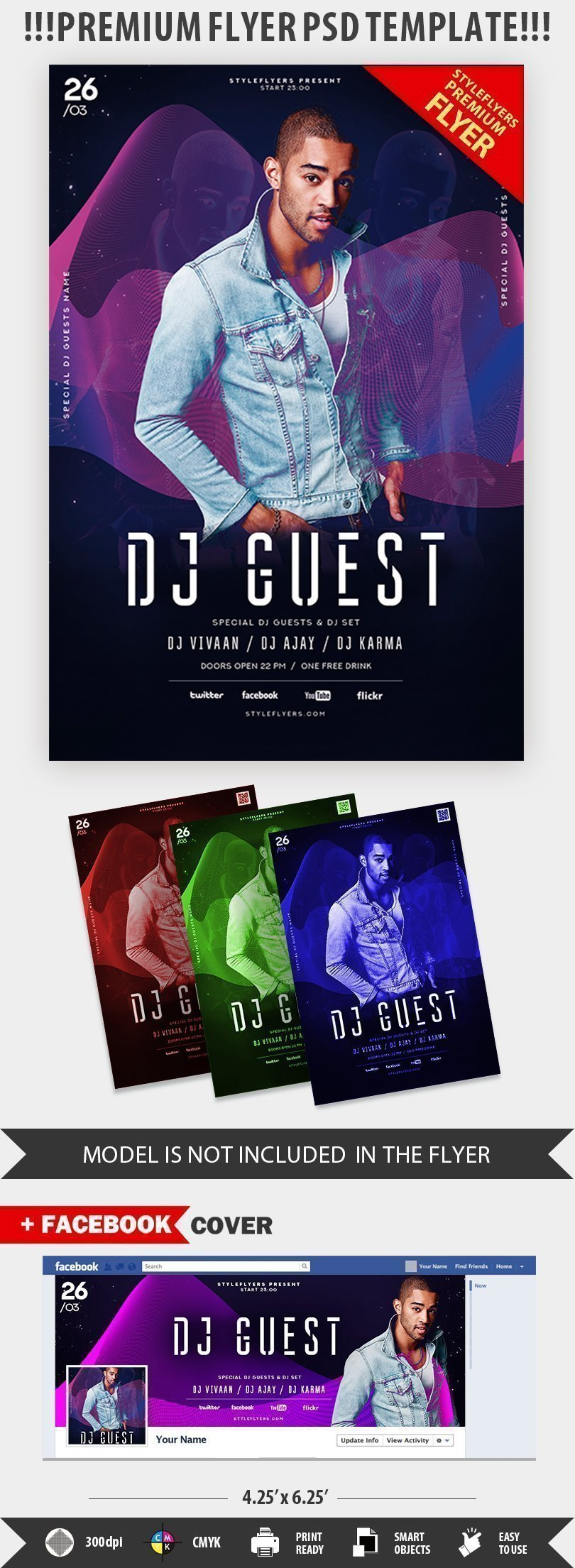 Book Dj Flyer Bogasrdenstaging