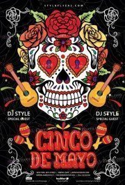 Cinco De-Mayo PSD Flyer Template