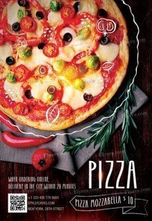 Pizza PSD Flyer Template