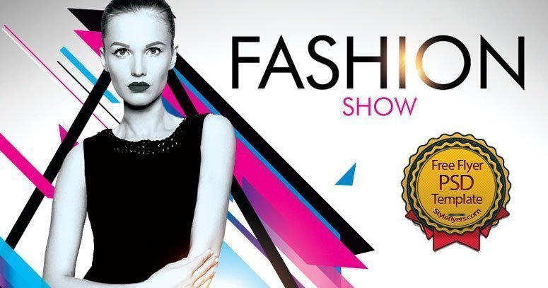 Fashion Show Free Flyer Psd Free Download 24142 Styleflyers