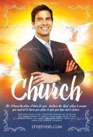 Church PSD Flyer Template