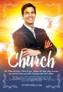 Church PSD Flyer Template