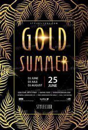 Gold-Summer-Party