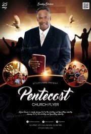 Pentecost Church PSD Flyer Template