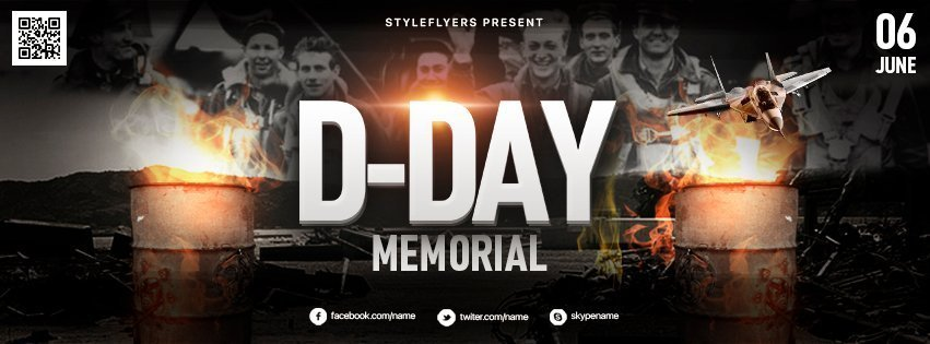facebook_prev_D-Day-memorial_psd_flyer
