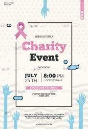 Charity Event PSD Flyer Template