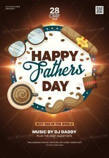 Fathers Day PSD Flyer Template