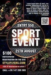 Sport-Event-Flyer