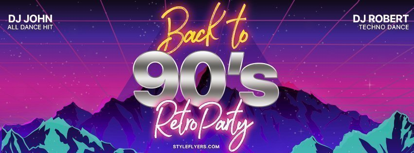 facebook_prev_Back-to-90's---Retro-Party_psd_flyer