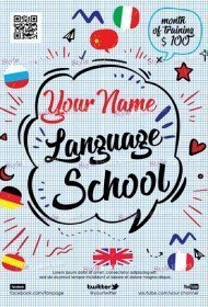 language-school-flyer