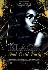 Black-And-Gold-Party-Flyer