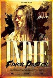 Indie-Flyer-Poster
