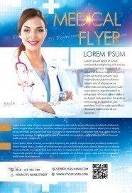 Medical PSD Flyer Template