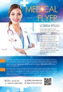 Medical PSD Flyer Template