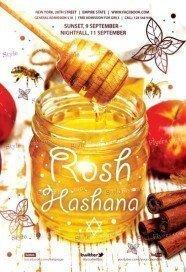 Rosh Hashana PSD Flyer Template