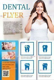 Dental PSD Flyer Template