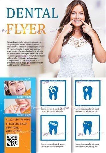 Dental PSD Flyer Template