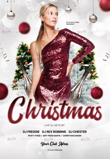Christmas PSD Flyer Template