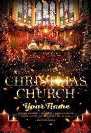 Christmas-church-Flyer
