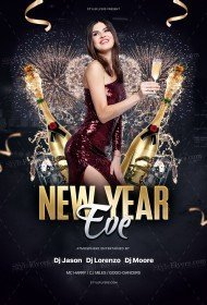 New-Year-Eve_psd_flyer