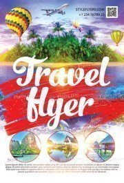 Travel Flyer PSD Template