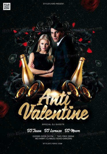 Anti-Valentine-PSD-Flyer-Template-372x537