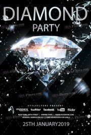 Diamond PSD Flyer Template