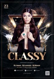Classy PSD Flyer Template