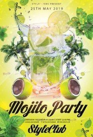 Mojito-Party-Flyer