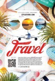 Travel PSD Flyer Template