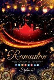 Ramadan PSD Flyer Template